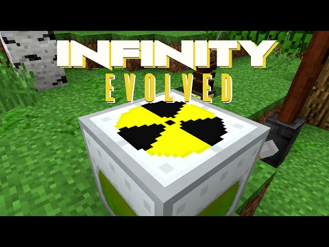 Minecraft Mods FTB Infinity Evolved - NUCLEAR POWER [E18] (Modded Expert Mode)