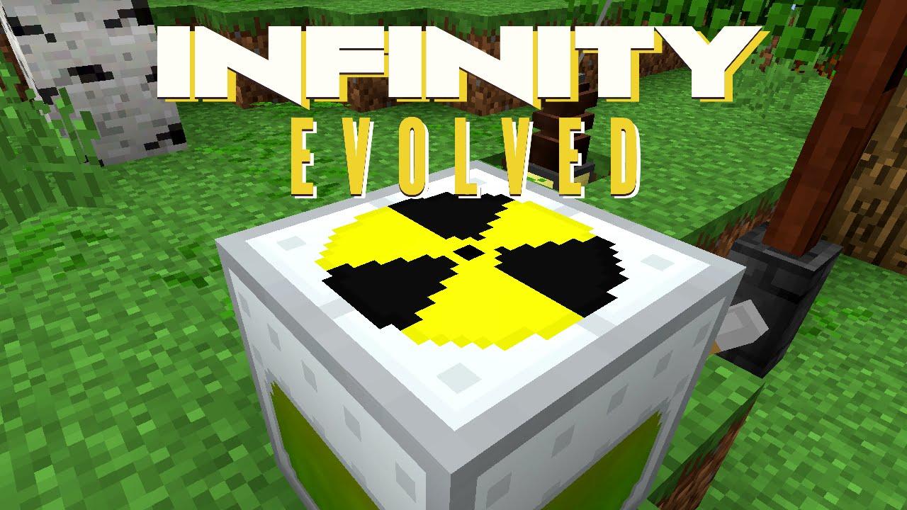 how to make a ftb infinity evolved server