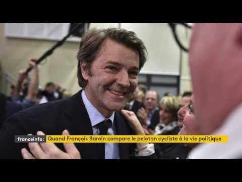 Tour de France : quand François Baroin compare le peloton cycliste à la vie politique