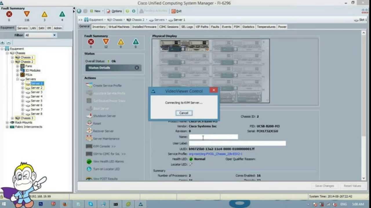how to initial setup cisco usc c series youtube