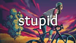 Gambar cover Tate McRae - stupid (Lyrics)