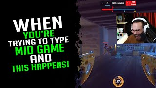 When You're Trying T๐ Type Mid Game And This Happens! - Overwatch Streamer Moments Ep. 650