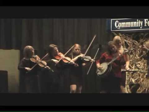 """""""Possum John""""- Rachel Johnson (fiddle)-  ETSU Bluegrass Band-"""