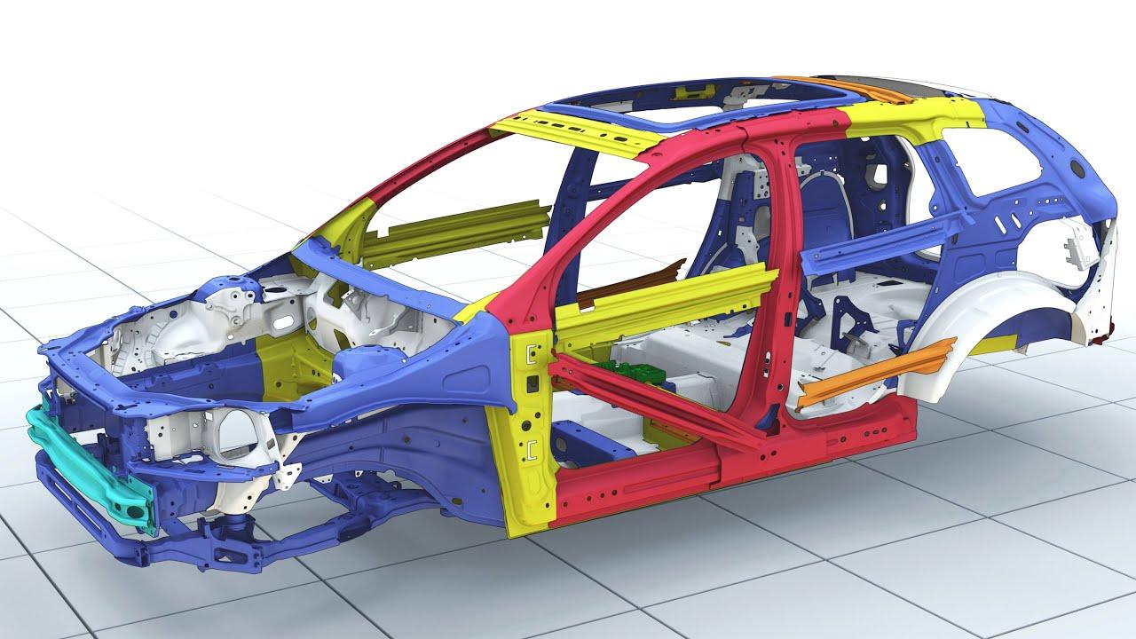 Volvo Car Body Crumple Zones Youtube