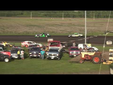 IMCA Stock Car Heat 2 Benton County Speedway 6/2/19