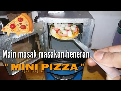Tiny Cooking Mini Pizza Masak Masakan Beneran Mini Pizza Youtube