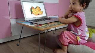 Nhật Ký Học Tiếng Anh Monkey Junior Của Chị Đại 1 Tuổi Ngày 08-05-2019