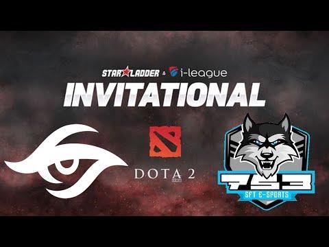 Secret vs SFT - StarLadder i-League Invitational #3 - Dota 2 Live Streams