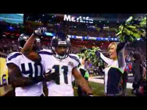 Seahawks defeat Broncos NFL Super Bowl XLVIII football game 43-8