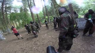 Final game Bawtry paintball more unfriendly fire