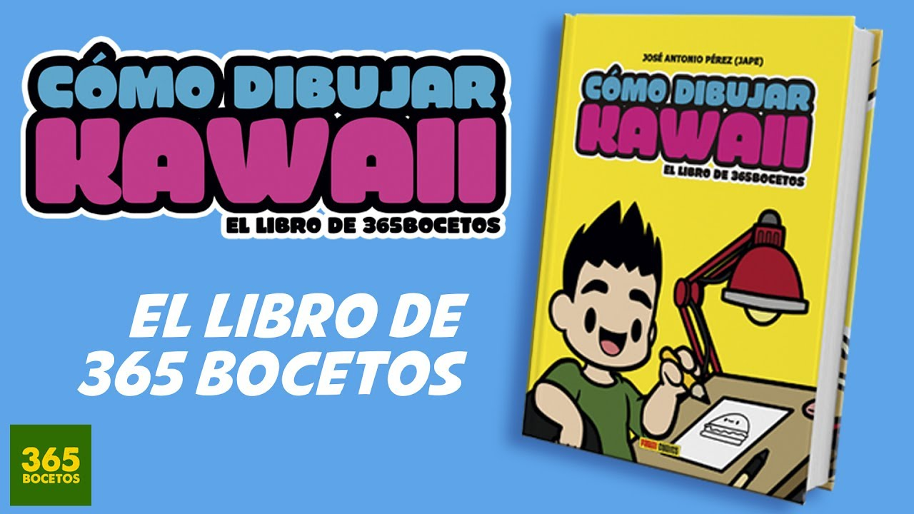 EL LIBRO DE 365 BOCETOS - Como dibujar kawaii - YouTube
