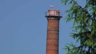 Konstancin-Jeziorna komin fabryki papieru