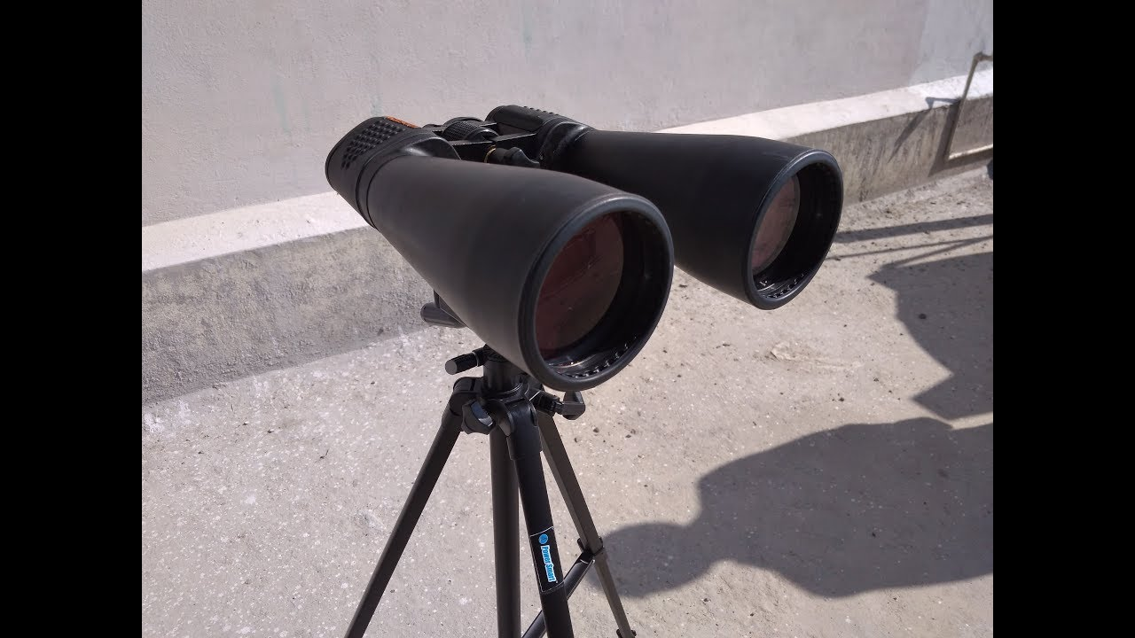 Celestron skymaster 25x70 binoculars magnification test review