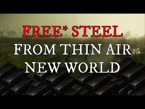 SECRET Crafting Method Gives You Free Steel From Thin Air! [New World]