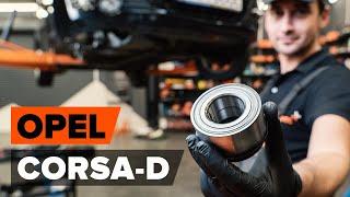 Hvordan skifte Hjullagersett på OPEL CORSA D - videoguide