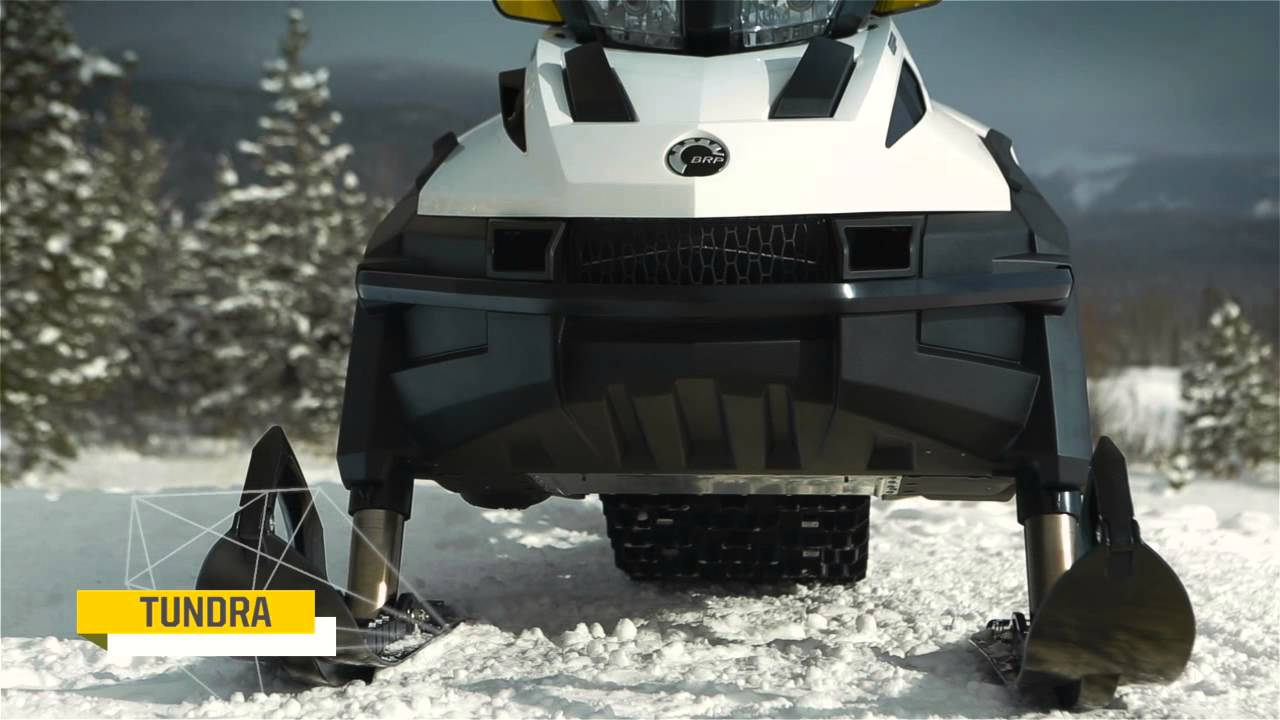 Ski Doo Skandic >> 2015 Ski-Doo Skandic and Tundra - YouTube