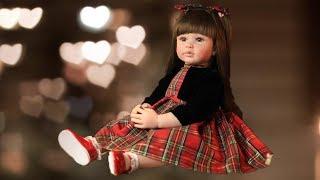 Обложка на видео - Кукла Реборн 60 см с Алиэкспресс Aliexpress Кукла как настоящий ребенок