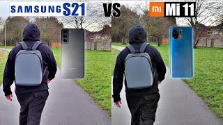 Xiaomi Mi 11 vs Samsung S21 - Camera Comparison - Which one is better?