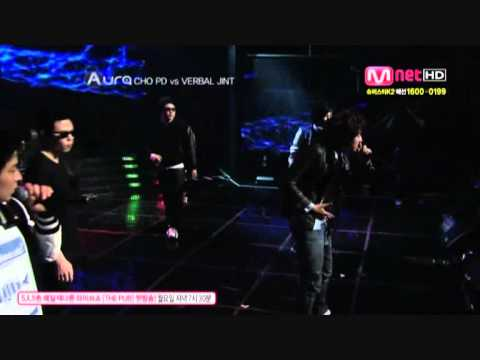 100425 MA concert Cho PD vs Verbal Jint - Interview + 종의 기원 (feat. Swings, Blockbuster)