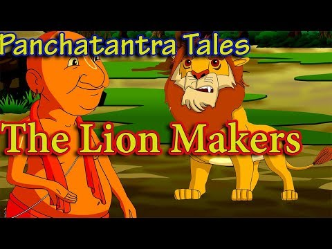 The Lion Makers | Panchatantra Stories in English | Best of Aesop Fables | Moral Stories for Kids