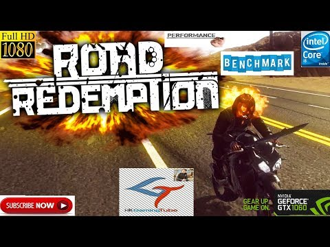 Road Redemption game play ultra setting on 1060 g1 gaming 6gb oc