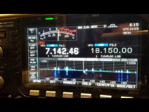 CN3A , Morocco AFRICA, 40m Band , SSB, 2017 WPX CONTEST, Worked by HL2WA