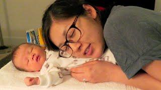 Newborn Vlog: Passport Photo, 1st Bath, 1st Flight!