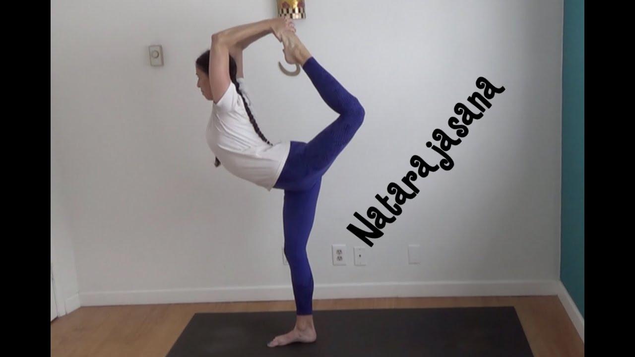 Learn Yoga King Dancer Pose Natarajasana With Shana Meyerson Yogathletica Youtube