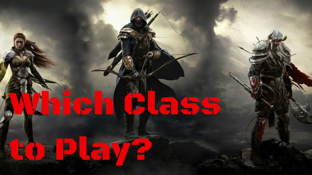 ESO Classes - How to Pick a Class as a Total Beginner (Updated for  Morrowind)
