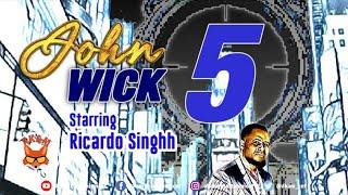 Ricardo Singhh - John Wick 5 [Audio Visualizer]