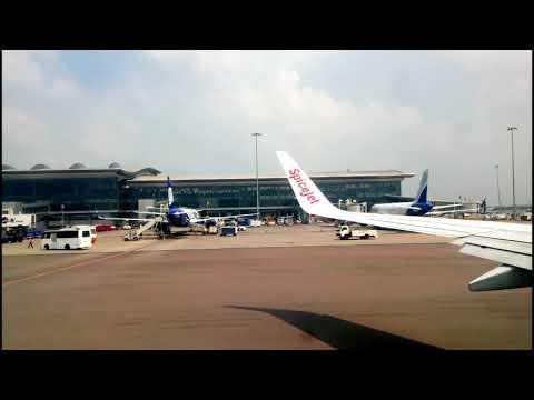Kerala Trip - Flight from Hyderabad to Cochin/Kochi/Kerala