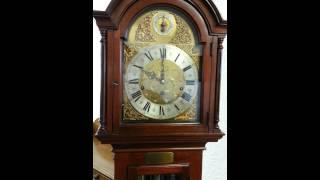 Mahogany Westminster Chime Clock