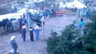 Jaripeo en Gpe. de las Flores San Antonino Monte Verde 2014