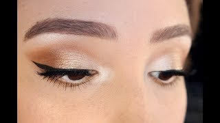White Gold Makeup Tutorial | Jaclyn Hill Palette