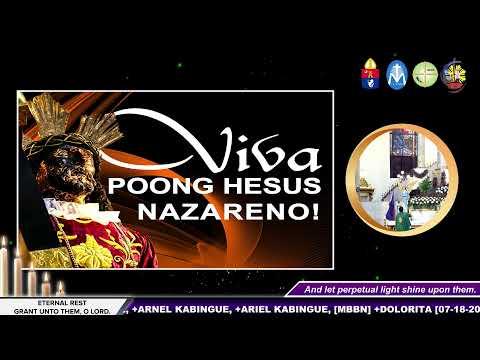 18 July 2021 (Linggo) 4:00 p.m. #OnlineMass