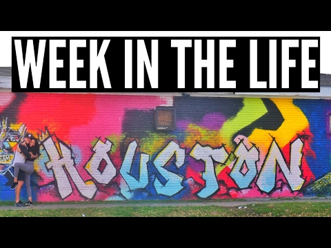 Week in The Life: Houston Travel Vlog