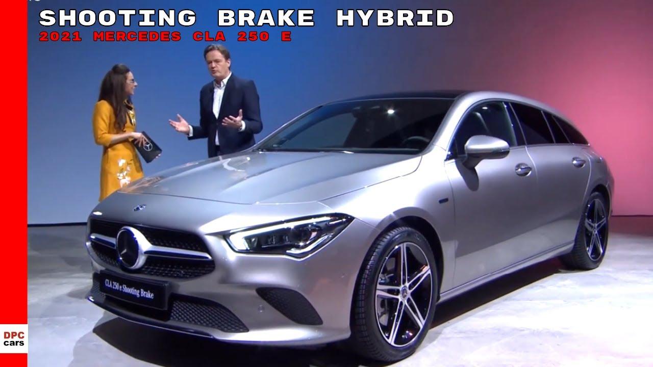 2021 Mercedes CLA 250 e Shooting Brake Hybrid - YouTube