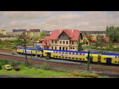 Model Railway with Marklin Model Trains in Z Scale