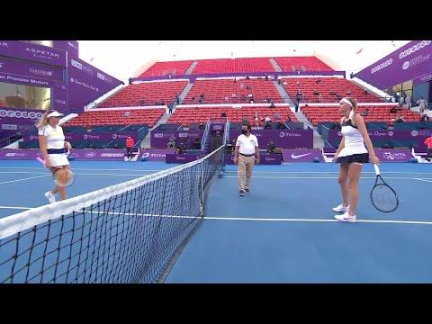 Anastasia Pavlyuchenkova vs. Petra Kvitova | 2021 Doha Round 2 | WTA Match Highlights