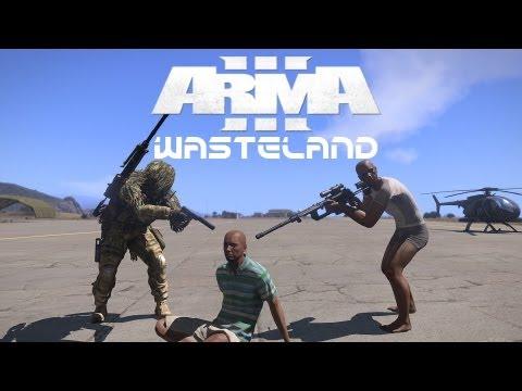 Arma 3 Wasteland #1 m/ Gamingfjols   Norsk