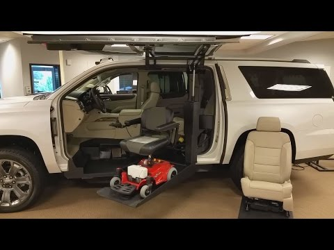 GMC Yukon XL Denali Power Chair Lift