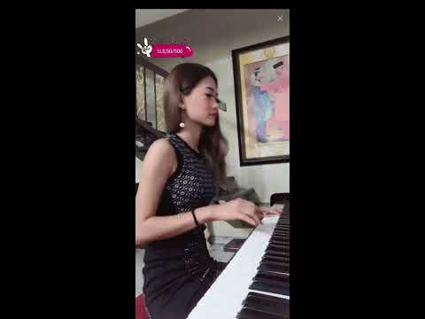 Let's Listen Beautiful Malaysian Girl Playing Piano Very Cool