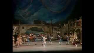 O DON QUIXOTE   MIKHAIL BARYSHNIKOV E CINTHIA HARVEY   AMERICAN BALLET THEATRE
