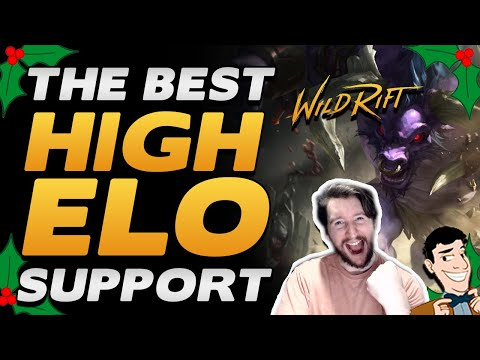 Alistar is the most picked support in HIGH ELO (Mini Guide + Gameplay) | Wild Rift Best Support