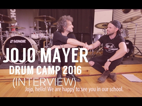 Jojo Mayer Drum Camp 2016 / Moscow ( Interview)