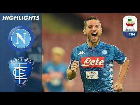 Napoli 5-1 Empoli | Mertens Scores Hat-Trick as Napoli Thrash Empoli | Serie A