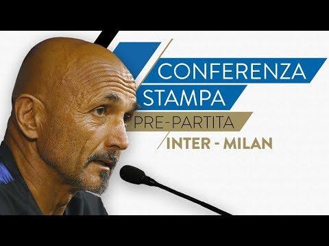 INTER-MILAN | Luciano Spalletti in conferenza stampa LIVE
