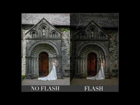 Off Camera Flash vs Ambient Light Tutorial. AMAZING simple off camera flash techniques