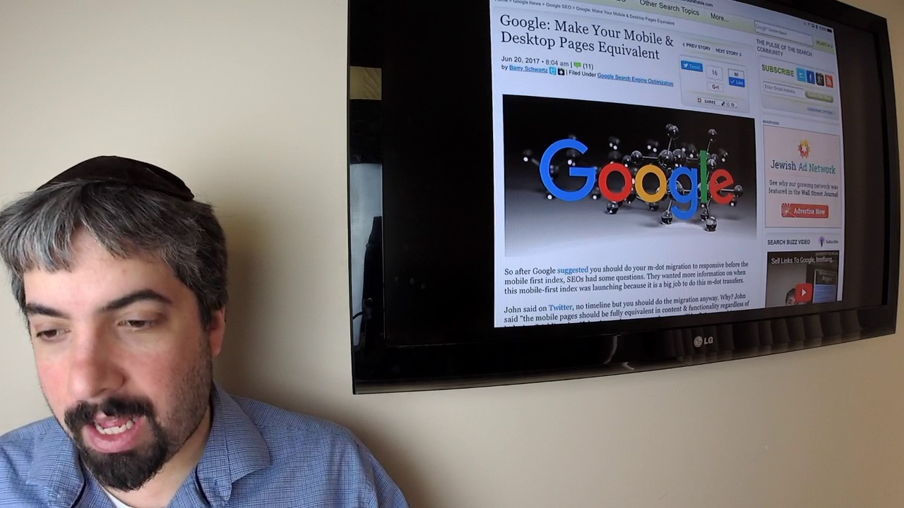 Google Mobile First Index Hints, Google Posts Live, Google Job Search & The SEO Movie