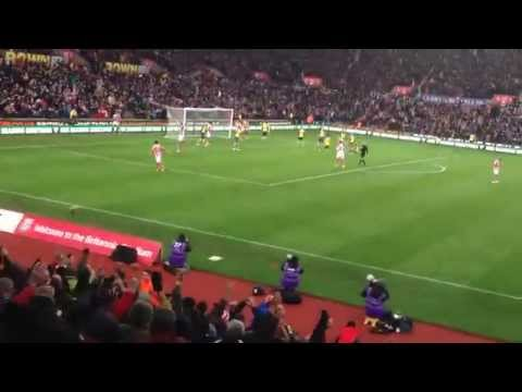 Super Jon Walters Back: Stoke vs Arsenal 2014
